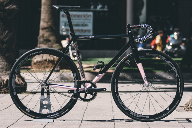 In The Black, In the Pink: 2017 Criterium Gijón Winner's Prize Bikes