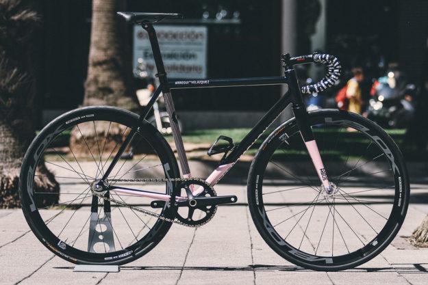 In The Black, In the Pink: 2017 Criterium Gijón Winner's Prize Bikes