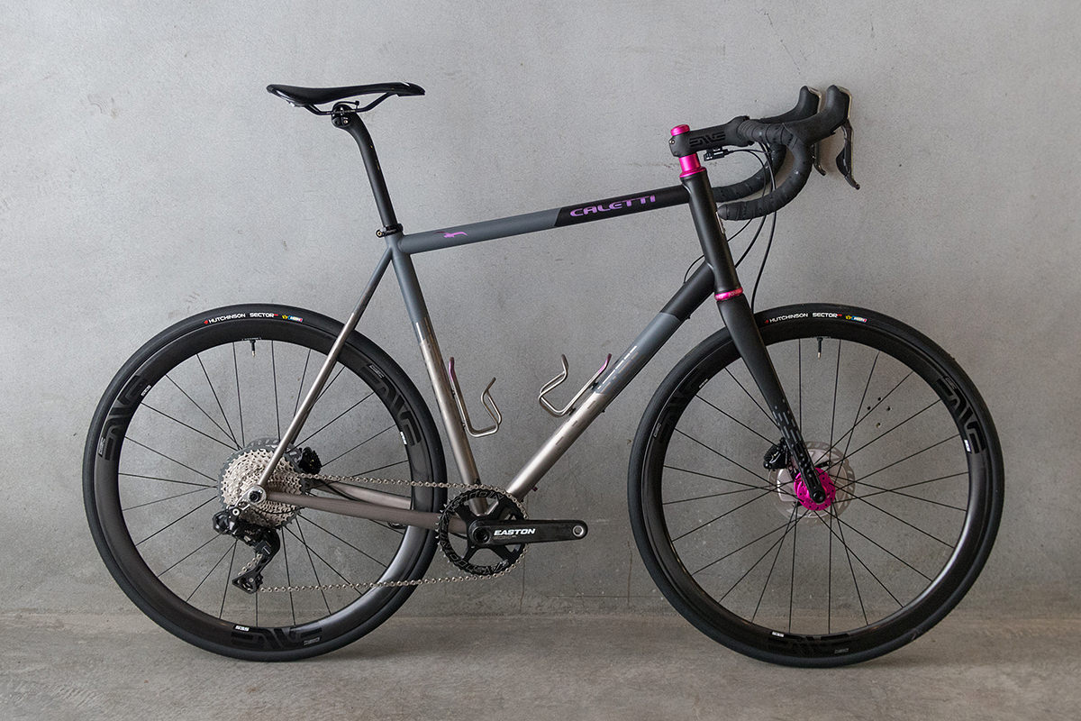 Punched In The Hills: Caletti Cycles ADV Road Bike