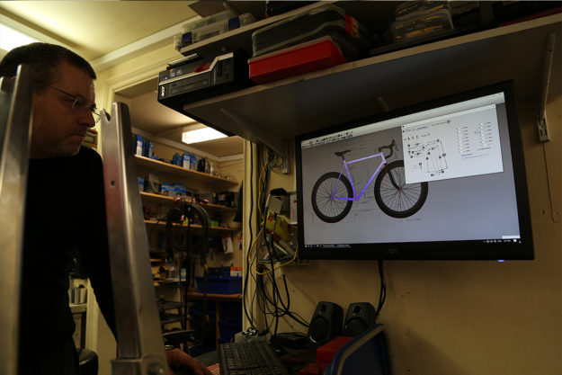 Framebuilding at Downland Cycles Episode 1: Spark It Up