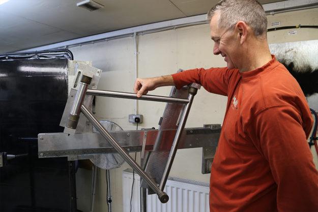 Framebuilding at Downland Cycles Part 1: Lug At First Sight