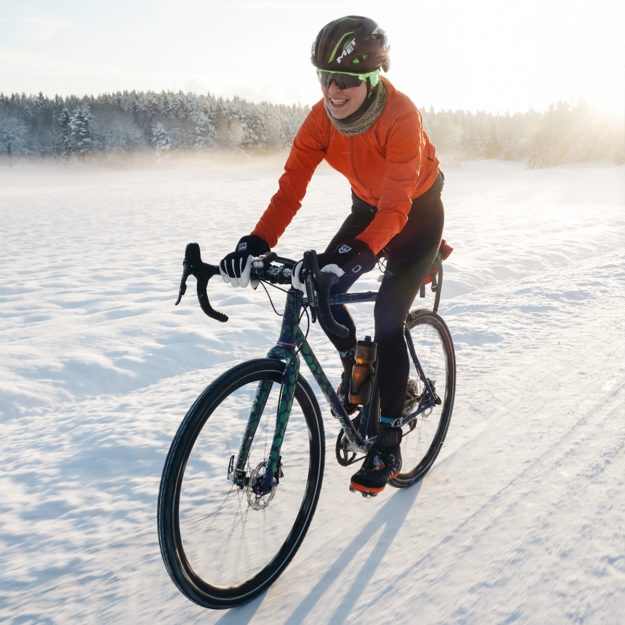 Shredding Through The Snow: Merced Bikes Aurora CX