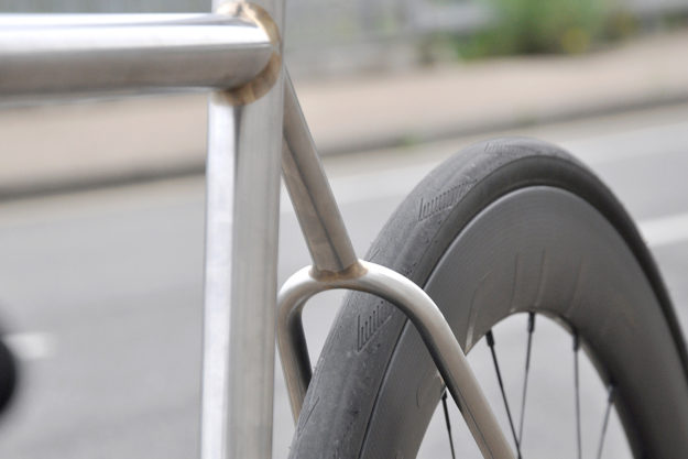 Leytonstone Legend: Stayer Cycles Stainless Steel Disc Road
