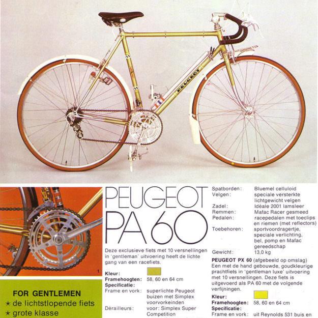 Hey Jean: Peugeot PA60