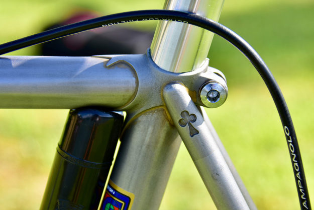 Just Like An Icicle: Colnago Master Piu Town Bicycle