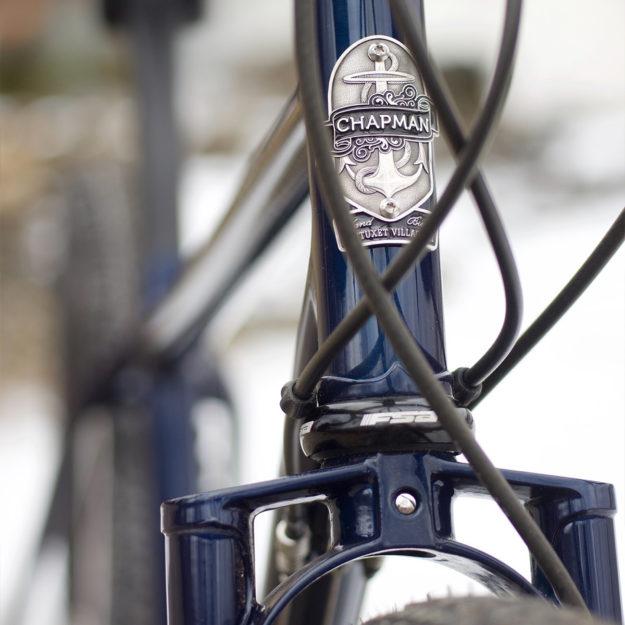 Deep Blue 650b: Elisha's Chapman Cycles All-Road Bike