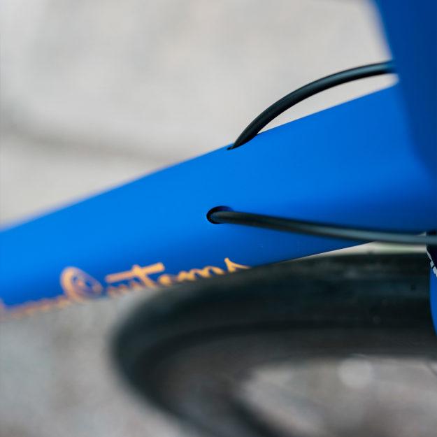 Blue Ton Izoard: Yves Klein Blue Spoon Customs