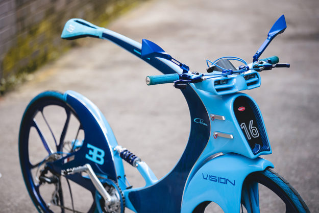 La Vie En Bleu: Bugatti Chiron Bicycle