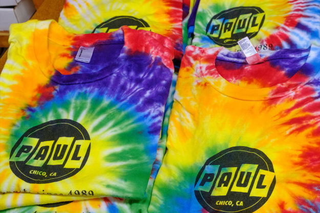 Tune In, Set, And Forget: Limited Edition PAUL Tie-Dyed T-shirt
