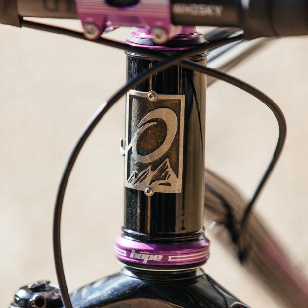 Purple Keys: Olivetti 2019 Grinduro Drop-Bar MTB