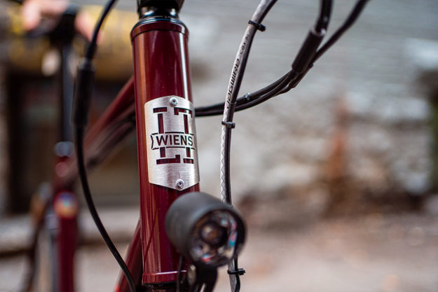 Lyle Wiens Super Tall Fat Tire Road Bike