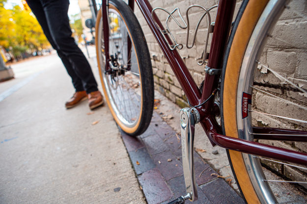 Lyle Wiens Super Tall Fat Tire Road Bike