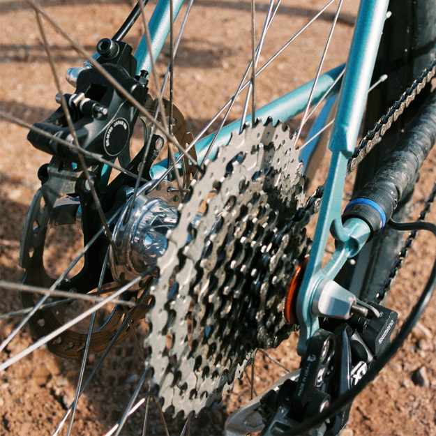 Misty Mesa Hop: Shalena's Sabrosa Cycles 29er Hardtail