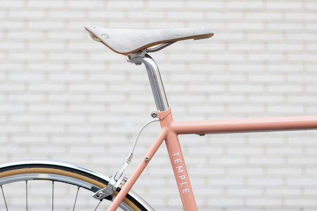 Rode To Atonement: Temple Cycles Dusty Pink ADV Road