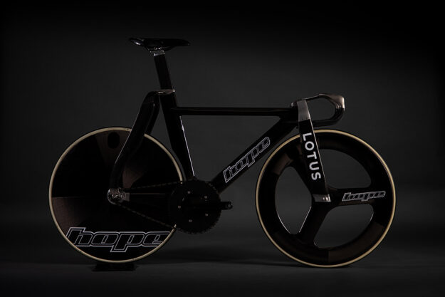 Hethel's Bells: Lotus x HOPE Olympic Track Bike