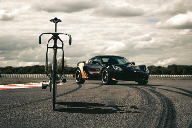 Hethel's Bells: Lotus x HOPE Olympic Track Bikes