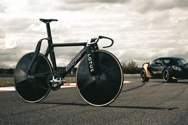 Hethel's Bells: Lotus x HOPE Olympic Track Bike