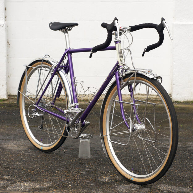 Hearts And Anchors: Jacquie's Chapman Cycles Tourer