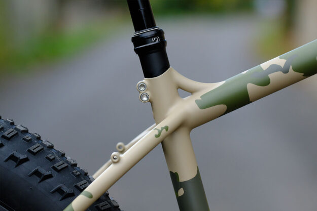 L'automne Tourer: Marc's Fall Fat Bike By Victoire Cycles